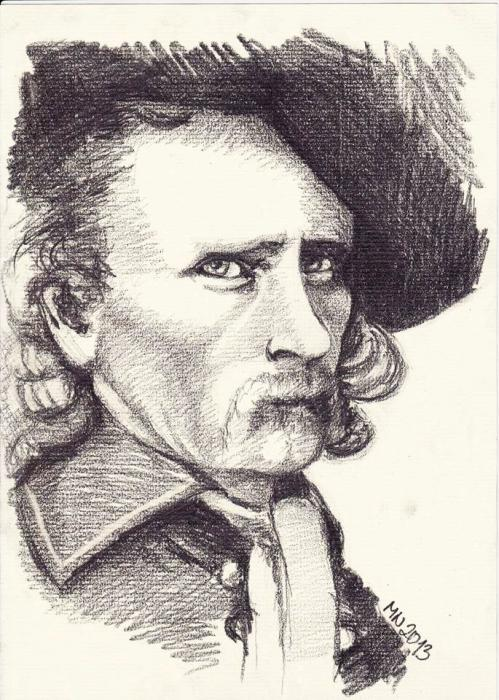 George A. Custer by Mint-flower